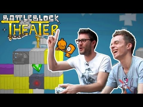 Cyprien Squeezie - Battleblock Theater