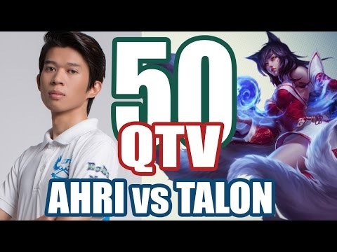 BM.QTV - Ahri vs Talon - Mid Lane - Stream 2016 #50