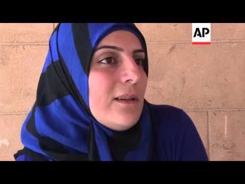 Job training helps Syrian refugees