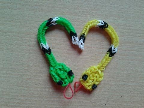 ♥ Tutorial: serpiente de gomitas sin telar ♥