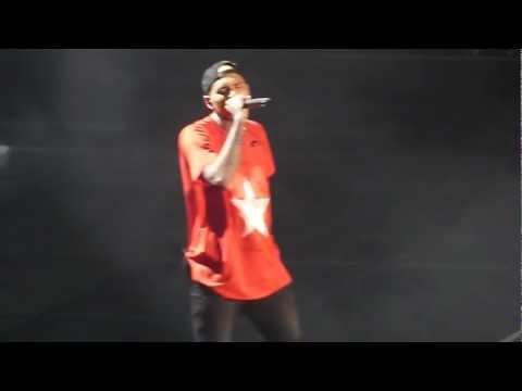Chris Brown - Don't Judge Me Live ! At Bercy Paris 09 12 12 video