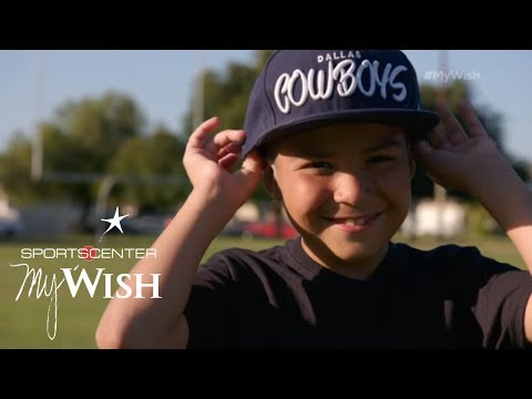 Dak Prescott Meets Raymond   My Wish   ESPN Stories