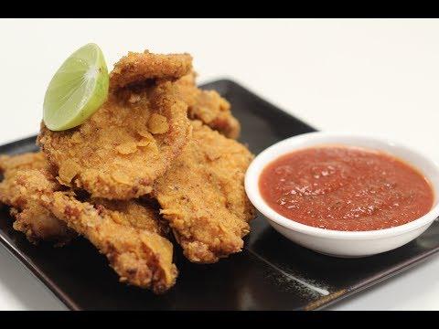 Nachos Crusted Chicken | Sanjeev Kapoor Khazana