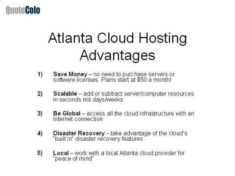 Atlanta Cloud Computing | Cloud Hosting | Cloud Services