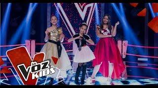 Angie, Nataly y Maite cantan en las Súper Batallas   La Voz Kids Colombia 2019