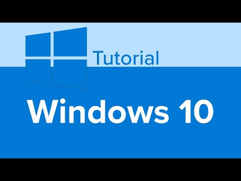 Learn Windows 10, Windows 10 Tutorial