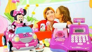 Маша Капуки Кануки и детские игрушки: детский магазин. Видео для девочек и игры для детей.