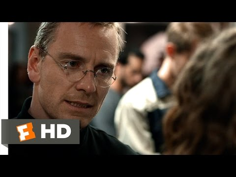 Steve Jobs (10/10) Movie CLIP - Lisa Was Named After You (2015) HD