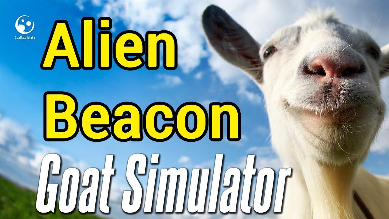 goat simulator alien