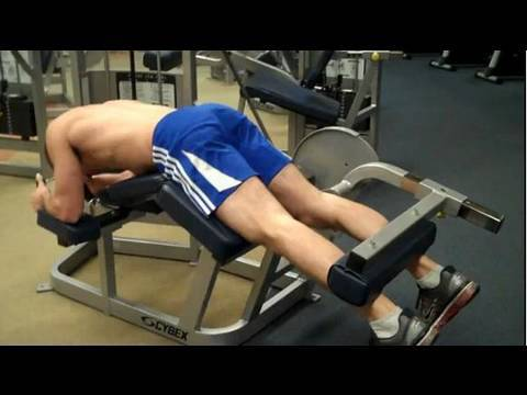 How To: Prone Leg Curl (Cybex) Image 1