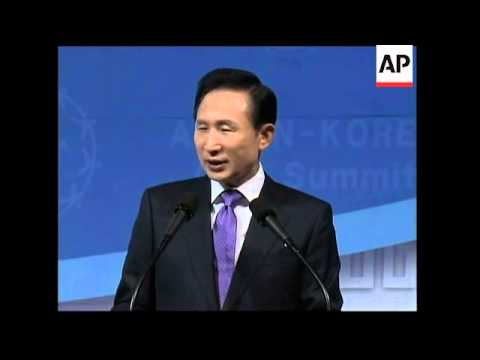 Thai PM urges SKorea and ASEAN to do more to fight economic crisis