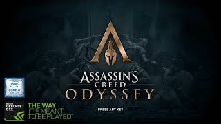 Assassin's Creed Odyssey On ASUS ROG GL503VD