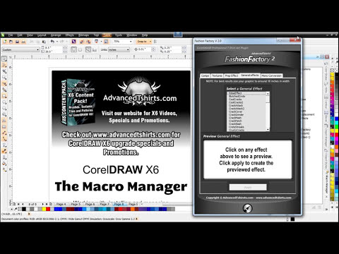 Video Overview of the CorelDRAW X6 Upgrade