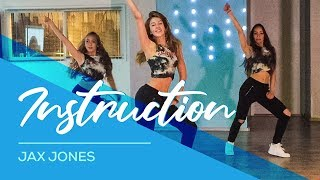 Instruction - Jax Jones - Watch on computer/laptop. Easy Fitness Dance Choreo