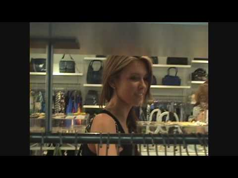 Audrina Patridge ( The Hills ) shopping at Kitson Store - 052109 - PapaBrazzi Report Video