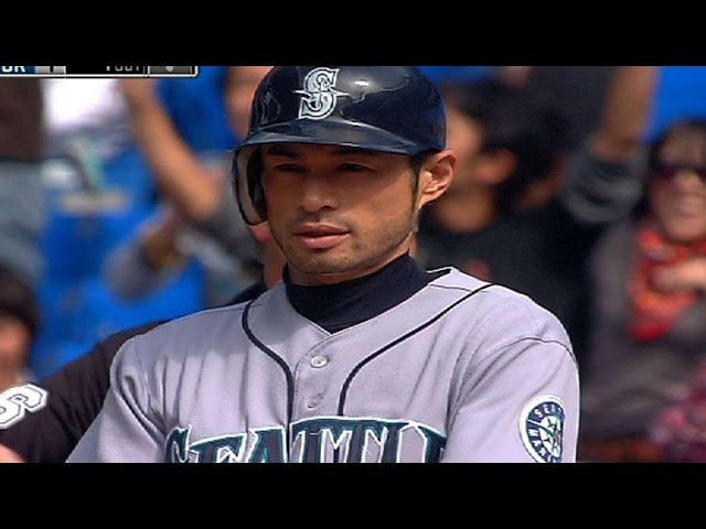Ichiro gets No. 200 for 10th straight year