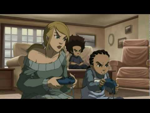 Boondocks: Guess Hoes Comming To Dinner Edited Funny Parts video