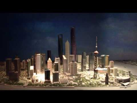 Shanghai World Financial Center model