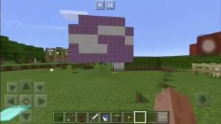 Revealing my new house in Minecraft