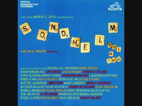 Sondheim: A Musical Tribute - Being Alive