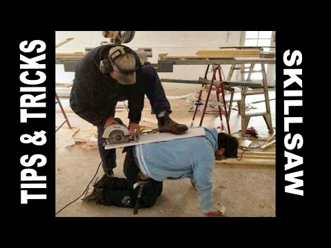 how to use circular saw safely. keeping 10 fingers