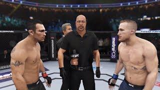 Tony Ferguson vs. Justin Gaethje (EA Sports UFC 3) - CPU vs. CPU