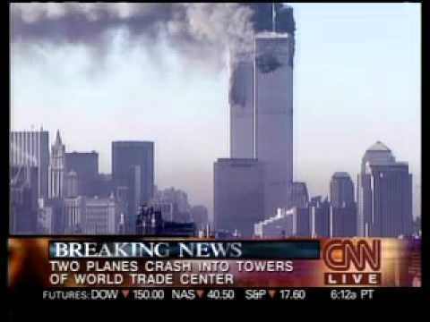 9/11 News CNN Sept. 11, 2001 8 48 am - 9 29 am September 11, 2001