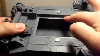 How to magnetize a imperial guard  shadowsword ( hexblade )