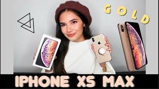 UNBOXING iPhone Xs MAX - GOLD / Features & Camera TEST!!