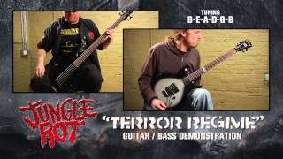 JUNGLE ROT - Terror Regime  (Guitar-Bass Demonstration)