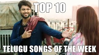 Top 10 Telugu Songs Of The Week -November 15, 2018