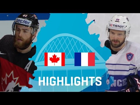Canada - France | Highlights | #IIHFWorlds 2017