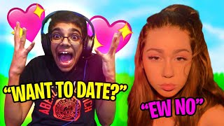 Kid Asks His Fortnite CRUSH to DATE Him... BUT FAILS! (he cried)