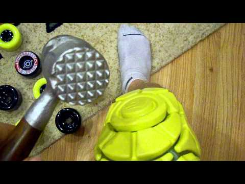Silverfish Longboarding G-form Poron Xrd Knee Pads video