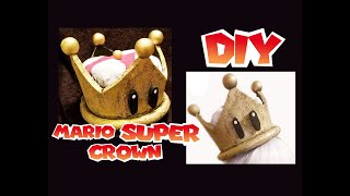 mario super crown DIY