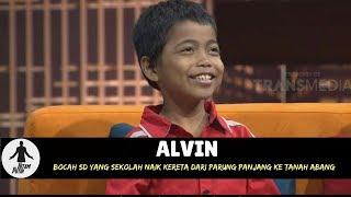 ALVIN, SEKOLAH NAIK KERETA DARI PARUNG PANJANG KE TANAH ABANG   HITAM PUTIH (18/04/18) 2-4