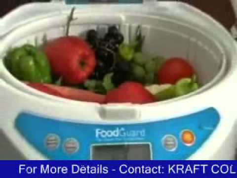 Ozone Fruits Vegetable Food Purifier Washer to clean pesticides and chemicals - Food Guard