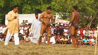 Ashok Pehlwan Vs Royal Steal Body Pehlwan Kushti Dangal Yamuna Nagar Khadari