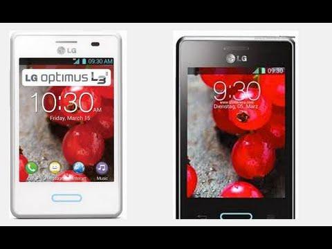 Hard Reset LG Optimus L3X L3 II. E425. E430 E435