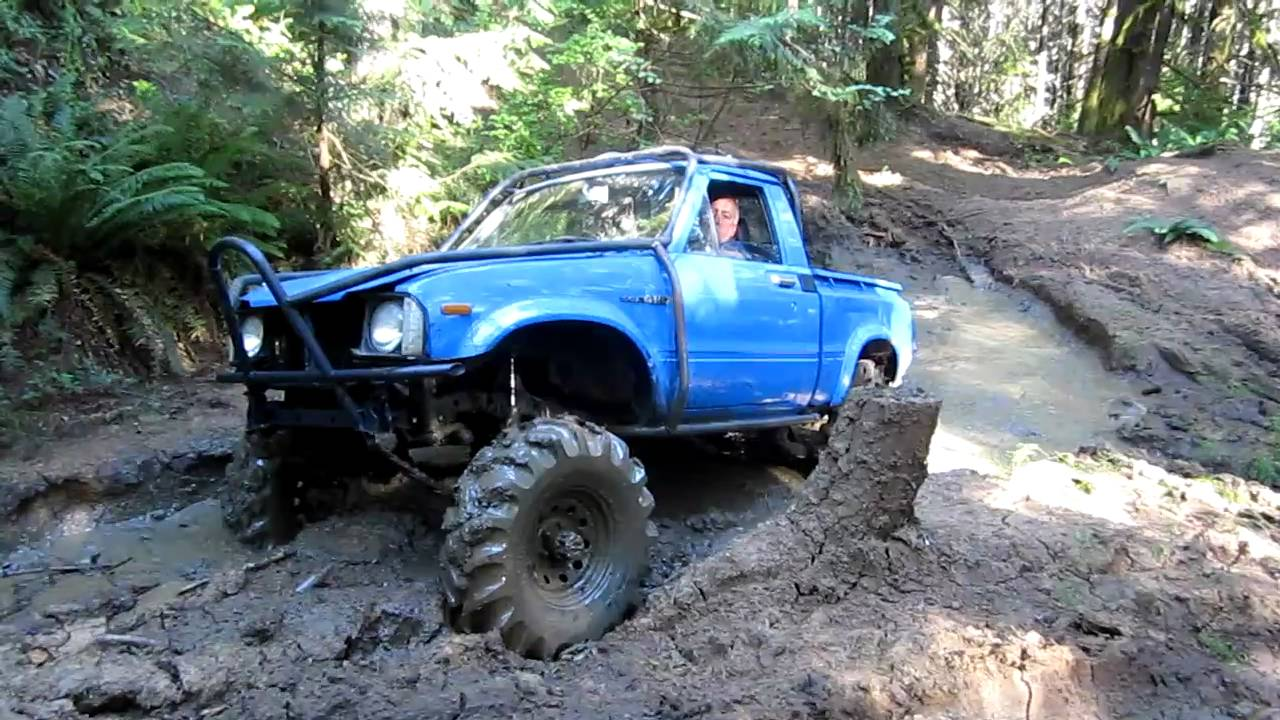 "Rogers And Rogers Toyota >> Sick Toyota on 36"" Tractor Tires going through mudhole - YouTube"