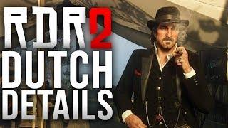 Red Dead Redemption 2 - Dutch Details!