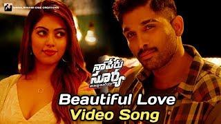 Beautiful Love Video Song   Naa Peru Surya Naa Illu India Songs   Allu Arjun   Anu Emmanuel  #NPSNII