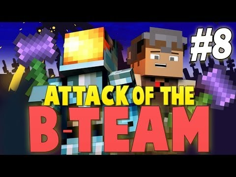 Minecraft: OBSIDIAN HAMMERS OF DEATH! - Attack of the B-Team Modpack Ep.8