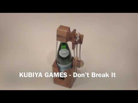 """How To Solve The Wine Puzzle """"Don't Break It"""" - BY KUBIYA GAMES #1"""