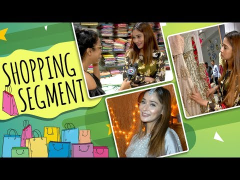 SARA KHAN Day Out With Tellymasala | Celebrity Shopping Spree