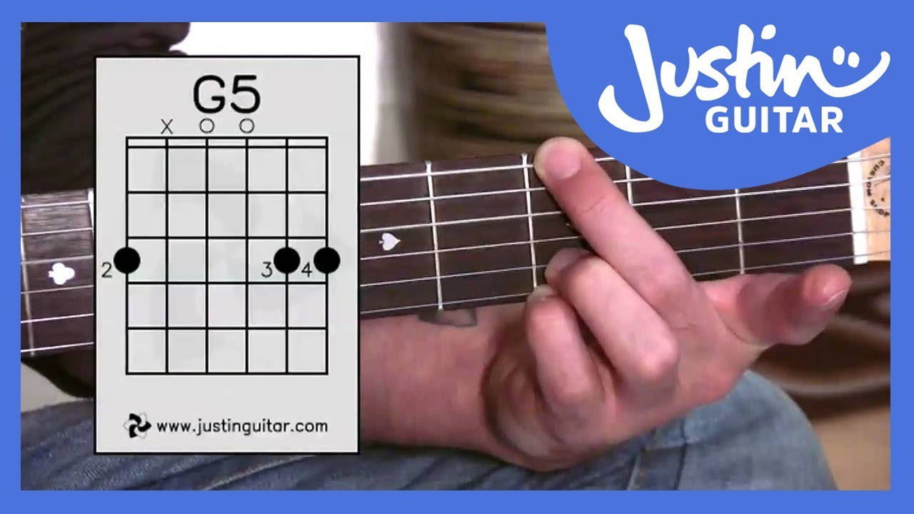 Guitar chords justin