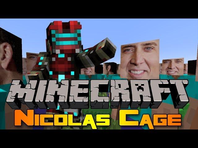 Minecraft Mod: Nicolas Cage Mod!