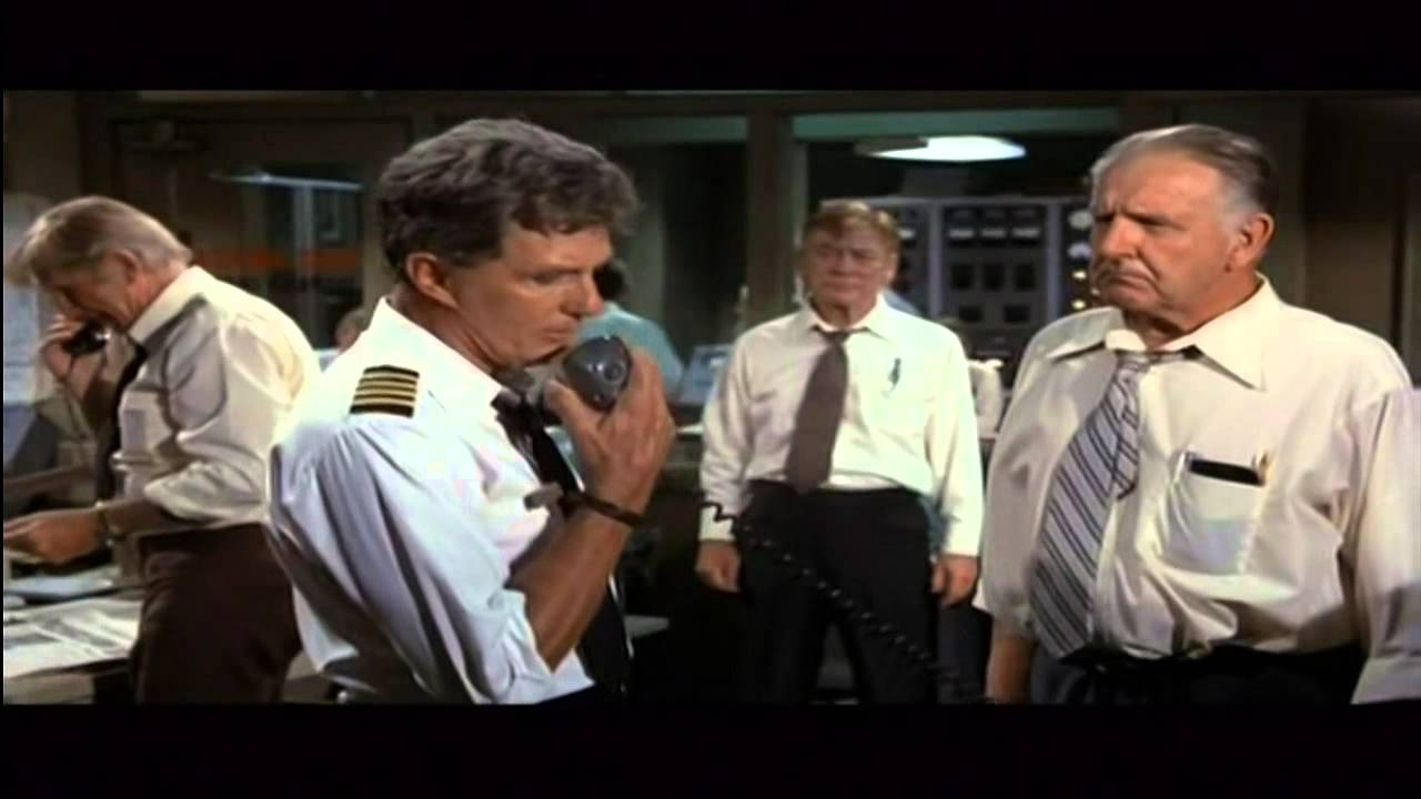 1980s Movies in Movie Airplane 1980