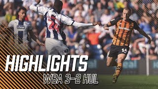 West Bromwich Albion 3-2 Hull City   Highlights   Sky Bet Championship