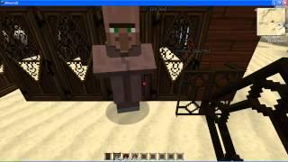 Як зробити ферму жителів в Minecraft 1.3.2